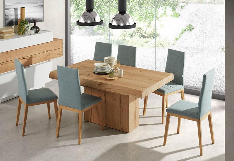 Muebles sisam y nuestros comedores modernos sisam Comedores de madera redondos modernos